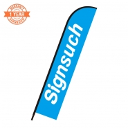 Replacement Flat Shape 4.8M feather banner