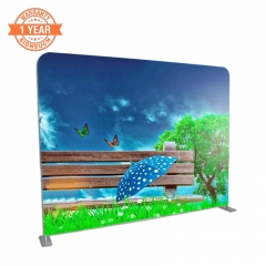 Straight 295cm Stretch Fabric Display